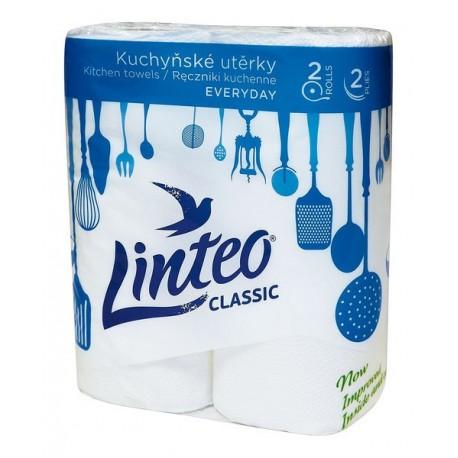 Kuchyňské utěrky Linteo classic 2 ks bez potisku