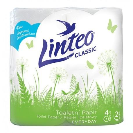 Toaletní papír Linteo classic 4 ks 2vrst. bílý
