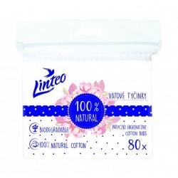 Papírové vatové tyčinky Linteo sáček 80 ks