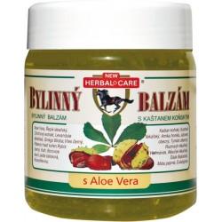 balzám bylinný s kaštanem koňským s aloe vera 500 ml