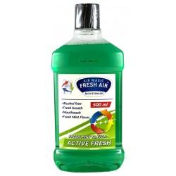 Ústní voda Mouthwash aktive fresh 500 ml