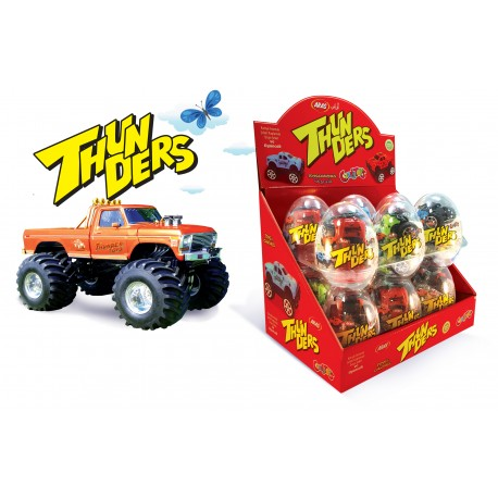 THUNDERS 10g-Plastové vajičko s hračkou