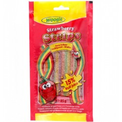 Sour Strawberry Strips 85g
