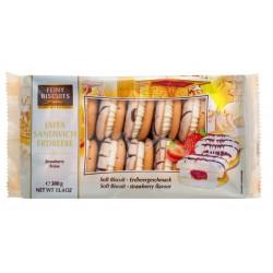 Jaffa 380 g sendvičová jahoda