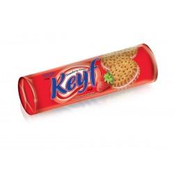 KEYF Strawberry Sandwich Biscuits 140g