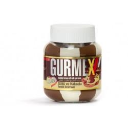 Gurmex - Kakaový krém Milk & Hazelnut(duo) 350g