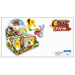 Choco Farm Toys 30g-Velikonoční čokoladová figurka 30g