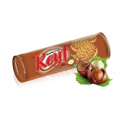 KEYF Hazelnut Sandwich Biscuits 140g