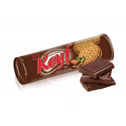 KEYF Cocoa Sandwich Biscuits 140g