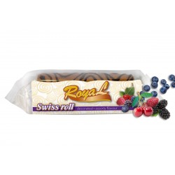 Royal Swiss roll Assorted fruit 150g