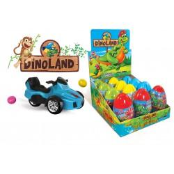 Dino Land pokladnička 10g-Plastové vajičko s hračkou