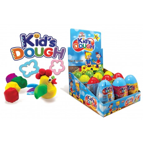 Kids Dough pokladnička 10g-Plastové vajičko s hračkou