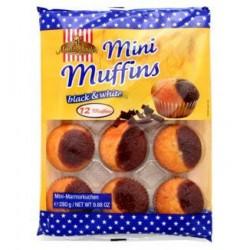 Muffins Black & White 280g