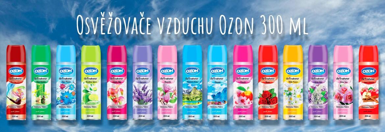 Osvěžovače vzduchu ozon 300ml