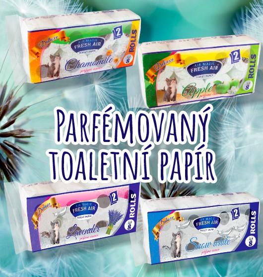Parfémovaný toaletní papír